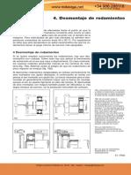 FAG 05 Desmontaje de Rodamientos
