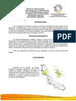 Proyecto de Pavimentacion2018 Mariel