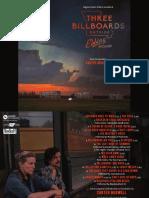 Digital Booklet - Carter Burwell - Three Billboards O