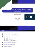 Modelo de Cooley Hansen - Hamilton Galindo