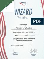 Certificado de Conclusão de Curso - Wizard - Level W12