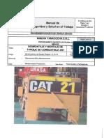 026 Desmontaje y Montaje de Tanque de Combustible 24h