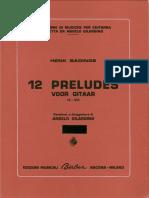 Henk Badings - 12 Preludios para guitarra revision y digitacion de Angelo Gilardino edicion Berben.pdf