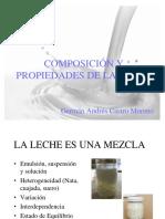 Composición Química de La Leche 2
