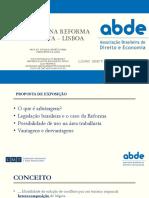Arbitragem e Reforma Trab