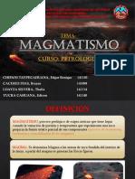 Magmatismo. Final
