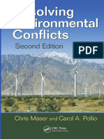 Environmental conflicts