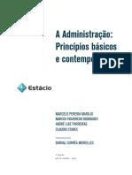 Administração, Princípios Básicos e Contemporâneos