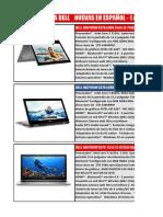 Laptops Dell 2018
