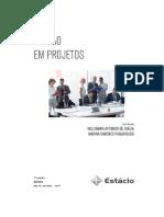 Gestao de Portfolio de Projetos