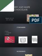 Berry and White Chocolate