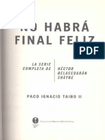 Taibo No Habra Final Feliz