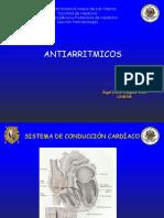Antiarritmicos. Medicina. UNMSM. 2018