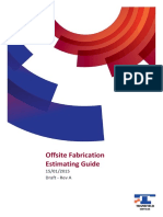 Transfield Fabrication Estimate Guide RevA