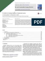 Articulo sobre el uso del concepto de exergía en la industria