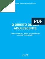 DADOS - Unicef - O direito de ser adolescente.pdf