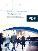 Crime and Corruption Commission report