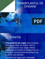 TRANSPLANTUL DE ORGANE.ppt
