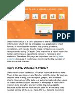 Top 10 Data Visualisation Tools