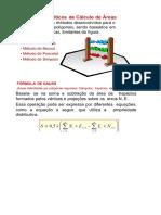 Área de Polígonos Irregulares (Método de Gauss)