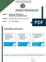 Capitulo 5 Disparidades Regionales