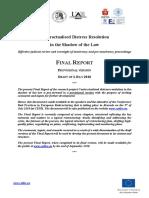 CODIRE - Provisional Final Report