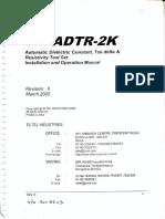 Elter ADTR 2K Manual