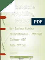 ppt on obs avoid bot
