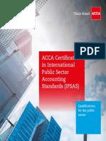 Acca Certificate Ipsas
