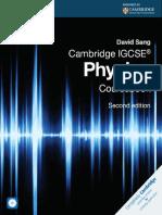 IGCSE Physics Coursebook by David Sang