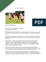 Timnas U-17 Disambut Bak Pahlawan
