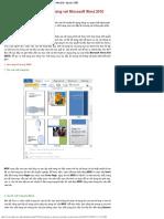 Tạo Trang Bìa Và Mục Lục Ấn Tượng Với Microsoft Word
