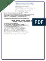 adjectives of feeling ed ing exercises.doc