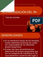 Isoinmunizacic3b3n Del Rh