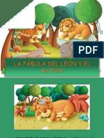 LA FÁBULA DEL LEÓN Y EL RATÓN.pptx