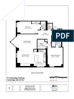 75 Cambridge Parkway Unit 311 Floor Plan