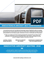 Aircraft Seating Innovation