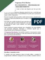 Programa Três Marias PDF COM BÔNUS - PROGRAMA DE EMAGRECIMENTO