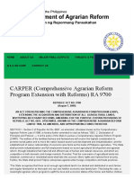 CARPER RA 9700 - Comprehensive Agrarian Reform Program Extension with Reforms.pdf