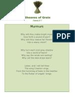 Murmurs - Sheaves of Grain - 52