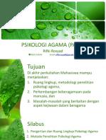 Psikologi Agama Pertemuan I.pptx