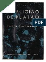 Goldschimidt, Victor - A Religião de Platão