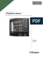 Simplex 4100ES Programmers Manual