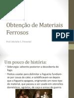 1- Obtenção e Classificação dos Aços.pdf