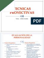TÉCNICAS PROYECTIVAS (2)