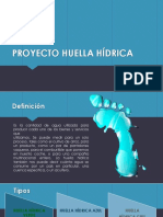 Proyecto Huella Hídrica