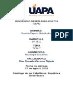 Tareas 7 Psicologia Educativa Yessenia Payano