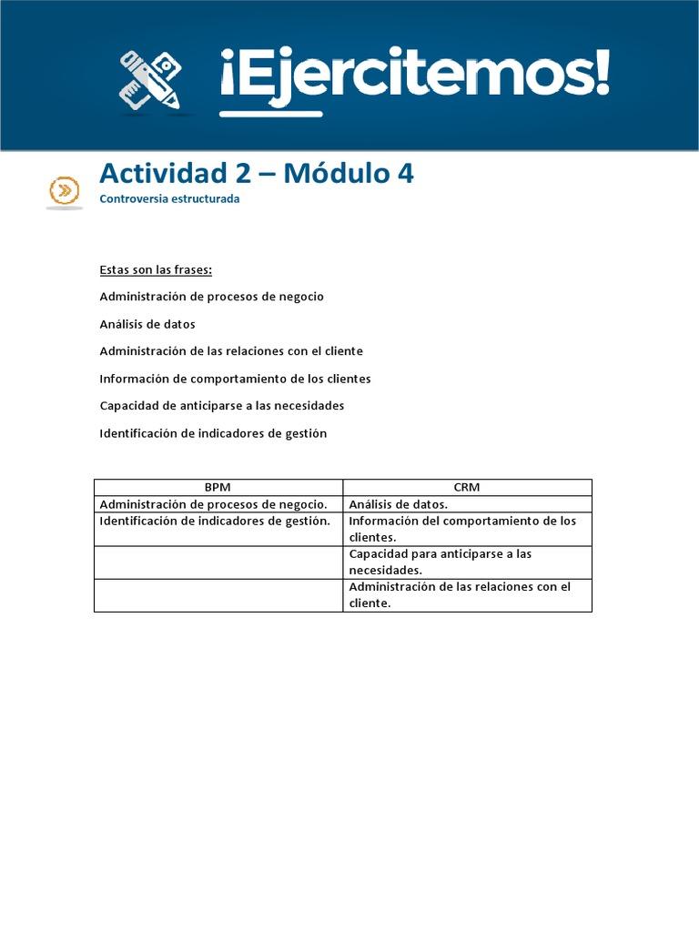 Actividad 1 Módulo 4