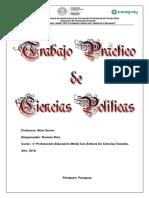 Ciencias Políticas - trabajo práctico