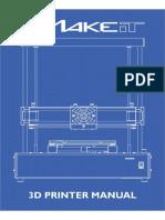 Manual Printing 3d MAKEiT